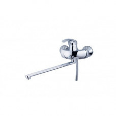KAISER Classic 16055 B Сhrome Смеситель для ванны со встроенным переключателем Хром