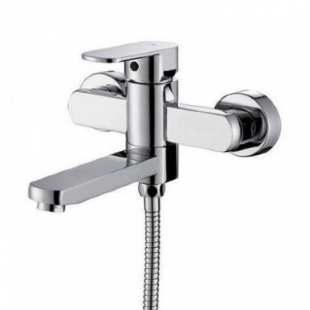 Смеситель для ванны KAISER Sonat 34022-L ванна к/н D35 скрытый дивертор с душем