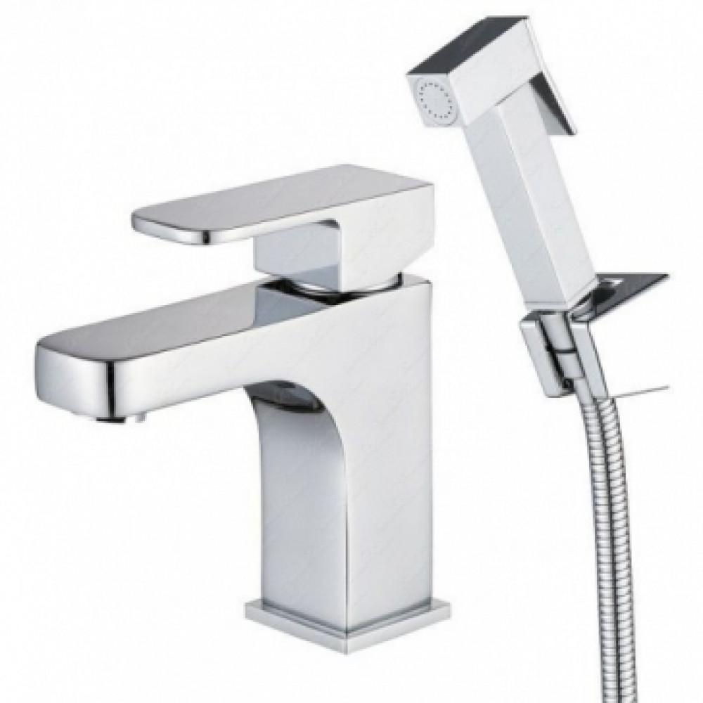 Смеситель для раковины KAISER Sonat 34088 для раковины D35 15 см + гигиенический душ
