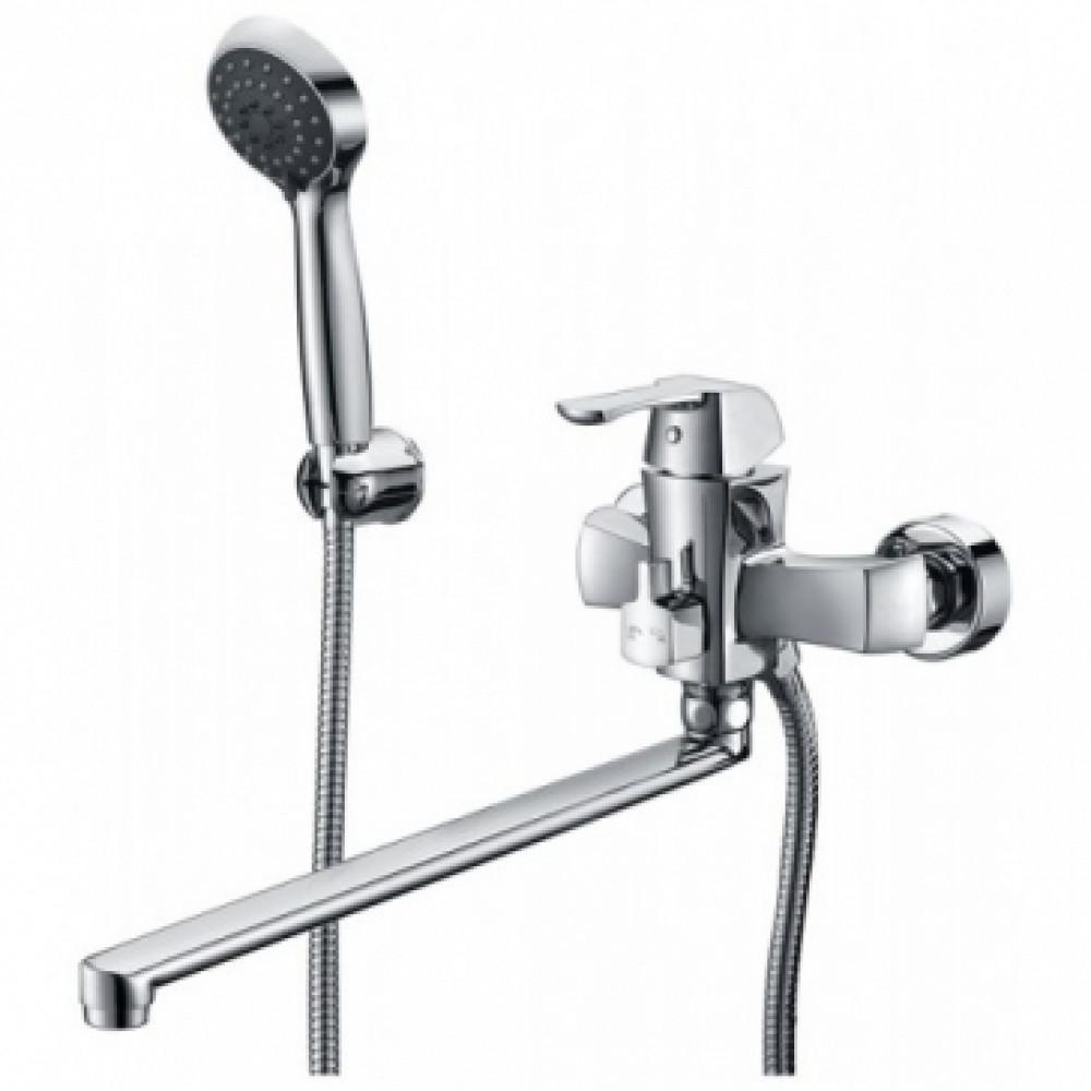Смеситель для ванны KAISER Boss 51055В ванна D40 (встр) с душем