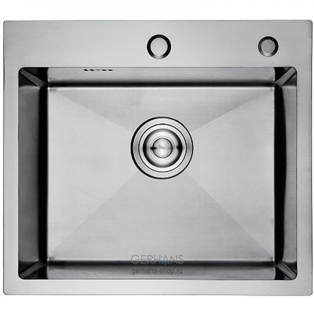 K35044 Кухонная мойка из нержавеющей стали Gerhans (500х440 мм) сатин