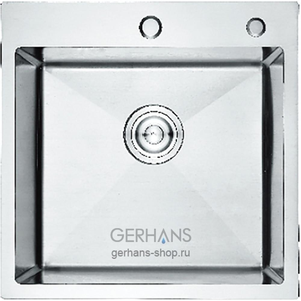 K35050 Кухонная мойка из нержавеющей стали Gerhans (500х500 мм)