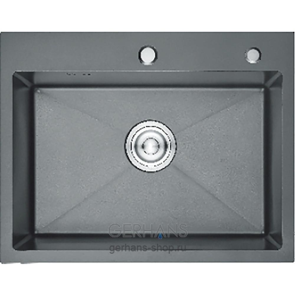 Кухонная мойка из нержавеющей стали Gerhans K36045-В (600х450 мм)