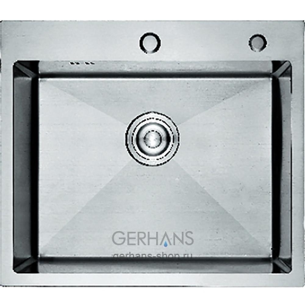 K36050 Кухонная мойка из нержавеющей стали Gerhans (600х500 мм)