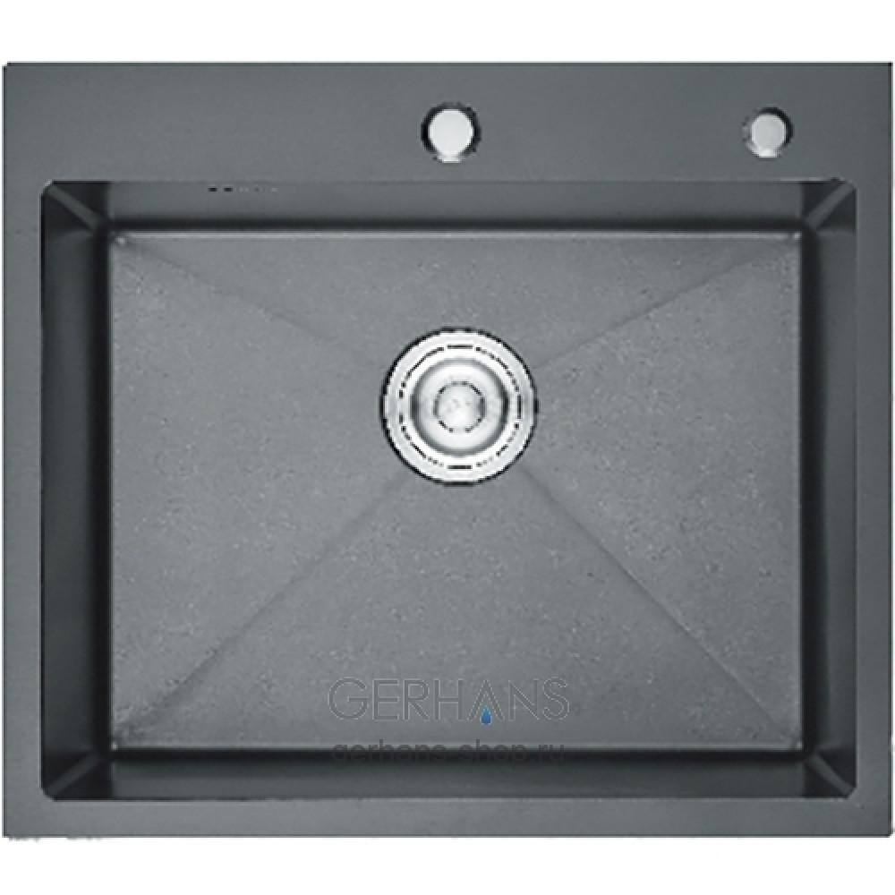 K36050-В Кухонная мойка из нержавеющей стали Gerhans (600х500 мм)