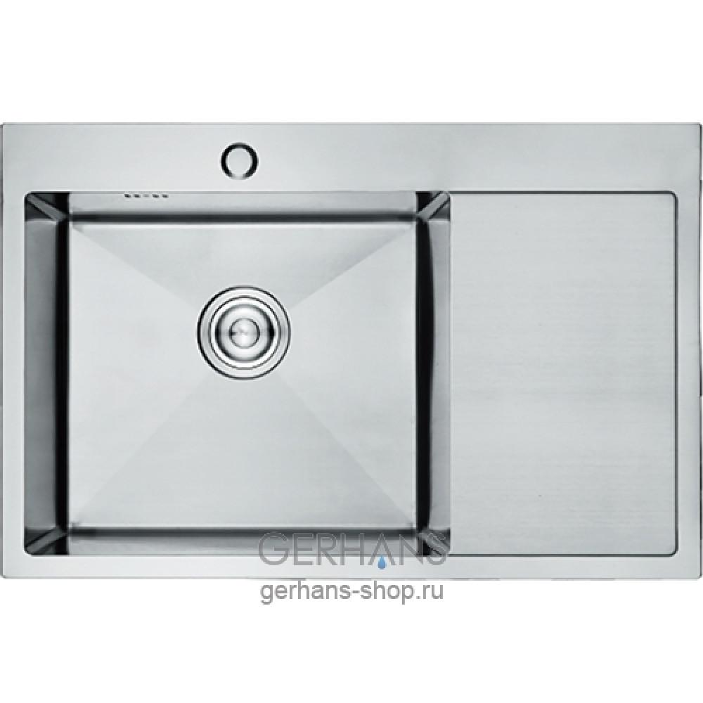K37851-L Кухонная мойка из нержавеющей стали Gerhans сатин
