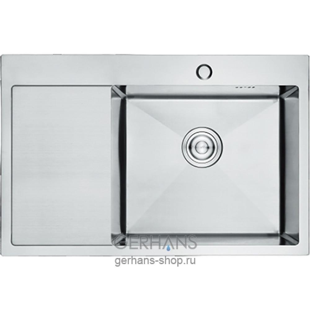 K37851-R Кухонная мойка из нержавеющей стали Gerhans сатин