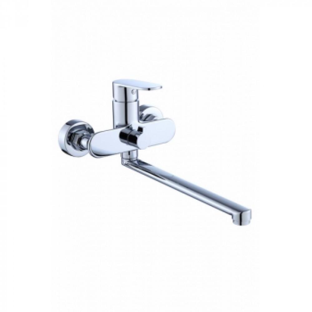 V-7305 Смеситель VIKO ванна  D35 встроенный переключатель L-40см (латунь)