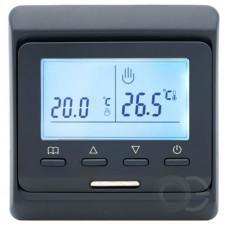 Терморегулятор программируемый 51.716 черный