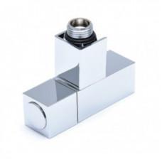 Кран угловой 1/2х1/2 ш/ш для полотенцесушителя
