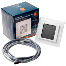Терморегулятор программируемый сенсорный SPYHEAT SDF-421H Белый/Крем